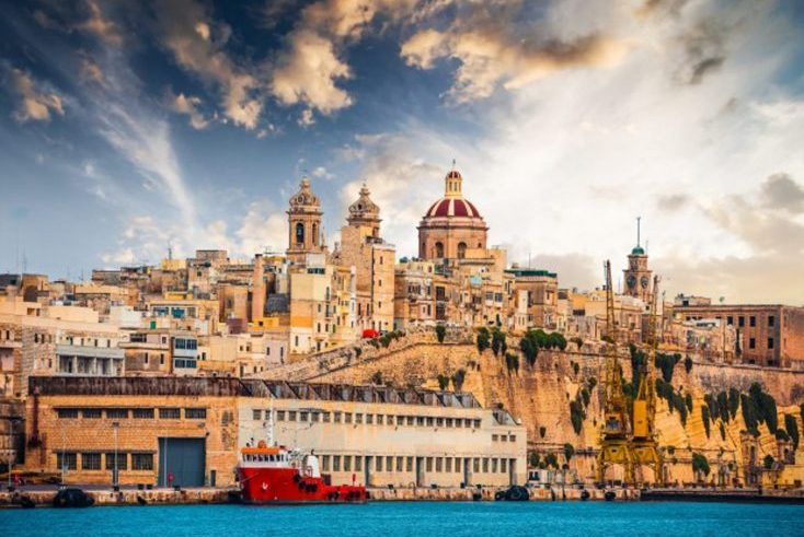 A view from the Maltese Harbour